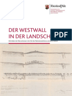 Der Westwall in der Landschaft