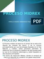 Proceso Miidrex 3