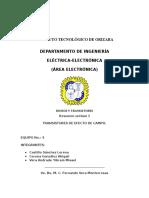 Transistores de Efecto de Campo.
