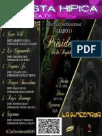 Retrospecto Hipico Domingo 23 de abril de 2017