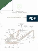 Bucyrus 1370W Dragline Major Components