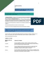 Communication Studies Language Techniques Notes
