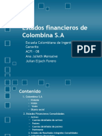 Estados Financieros de Colombina S