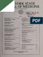 New York State Journal of Medicine, vol. 88
