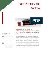 Relexion Derechos de Autor