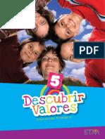 Descubrir Valores Primaria 5