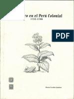 2004 Escobar El Tabaco en El Perú Colonial