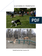 Pittsfield Dog Park Report