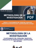 Metodologia de La Investigacion,Planteamiento Del Problema, Objetivos