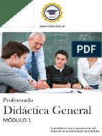 Modulo i Didactica Gral.o (1)