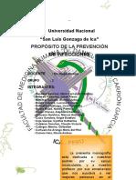 PROPOSITO DELA PREVENCION DE INFECCIONES