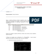 Analise Técnica - Penhora TIM - SOX