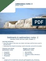 Lecture 5 - Sediments 2 - 2016