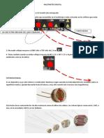 Precauciones de Multimetro Digital