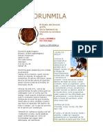 folleto Orunmila