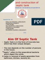Septic Tank Presentation ppt