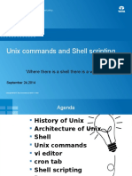 UNIX Commands and Shell Scripting