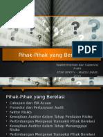 Bab 11 Pihak2 Yang Berelasi (1)