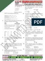 Neet Test Series 2107 Dimesional analysis, 1 D motion, 2 D Motion, Newtons Laws & Work Power Energyy