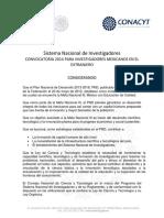 Convocatoria Investigadores Mexicanos en El Extranjero