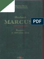 Herbert Marcuse - Razon y revolucion.pdf