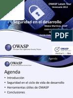 5 OWASP LatamTour2013 (Mateo Martínez)