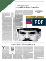 Venezuela Sin Estado de Derecho