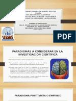 Diapositiva Seminario Inv. El Positivismo Dce. Lorena Mejia