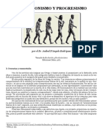 Evolucionismo y Progresismo