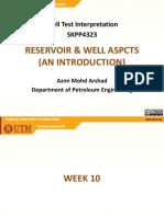 10 - Well Test - Reservoir & Well Aspects