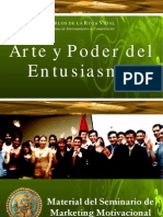 Arte y Poder Del Entusiasmo - Carlos de La Rosa Vidal