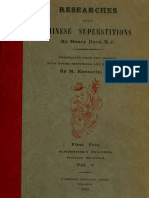 researches into chinese superstitions (Vol 5) - henry dore