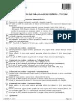 13.089-8 E - Guia Do Consórcio PAN Para Análise de Crédito - Veículo