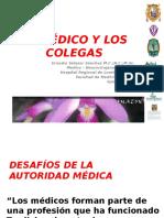 Etica 21 El Médico y Los Colegas
