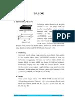 makalah BALOK 2.doc