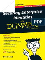 Identity Defined Cyber Security for Dummies Centrify Special Edition
