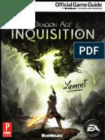 Dragon Age Inquisition Prima Guide