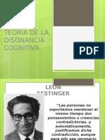 Teoría de La Disonancia Cognitiva Mejorado
