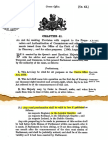 1877 Crown Office Act - Gazetting by Royal Assent - Kingdom of Mann