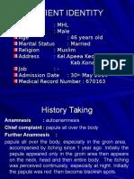 Case Presentation - Scabies