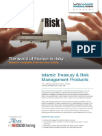 Islamic Treasury Risk Management Products