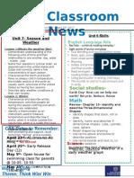week 31- kg2 newsletter