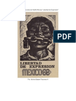 Análisis de la obra La Libertad de expresión  de Adolfo Mexiac reducido1