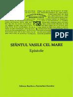 Epistole - Sfantul Vasile Cel Mare