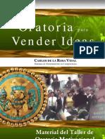 Oratoria Para Vender Ideas - Carlos de La Rosa Vidal