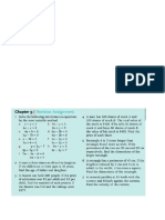 Revision Simultaneous Equations Grade 8