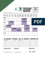 Jadual waktu Waktu Bm 2016