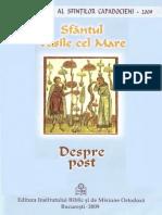 Despre Post - Sfantul Vasile cel Mare.pdf