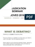 Adj. Seminar JOVED 2016