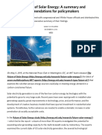 The Future of Solar Energy_ a Summary and Recommendations for Policymakers _ MIT Energy Initiative